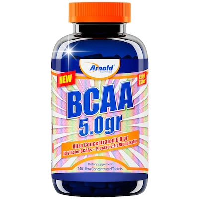 BCAA Arnold Nutrition Ultra Concentrated 5.0gr - 240 Tabletes