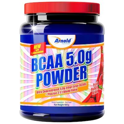 BCAA Ultra Concentrado 5,0gr Powder - 400 g - Sabor Ponche de Frutas - Arnold Nutrition