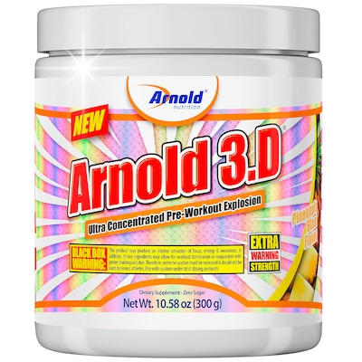 Pré-Treino Arnold Nutrition Arnold 3.D - Abacaxi - 300g