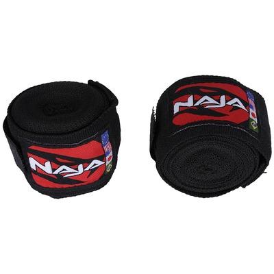 Kit de Boxe Naja com Luva 16 OZ Bandagem e Protetor Bucal - Adulto