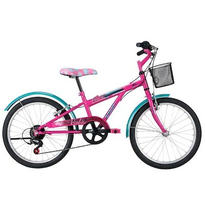 Bicicleta Caloi Barbie - Aro 20 - Freio V-Brake - Câmbio Traseiro Caloi - Feminina - Infantil