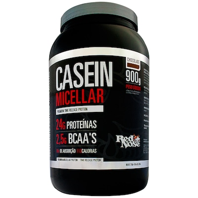Casein Micellar – 900 g – Sabor Chocolate – Red Nose