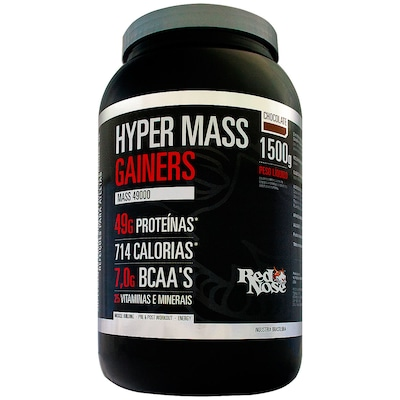 Hypermass Gainers 49000 – 1,5 Kg – Sabor Chocolate – Red Nose