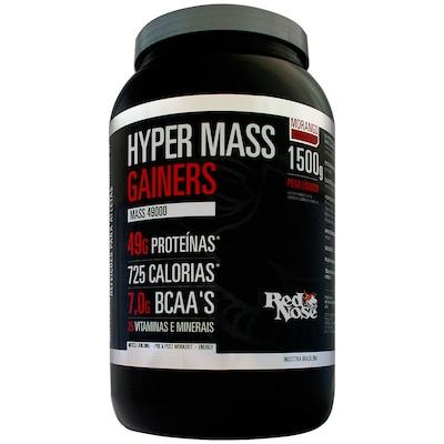 Hypermass Gainers 49000 – 1,5 Kg – Sabor Morango – Red Nose