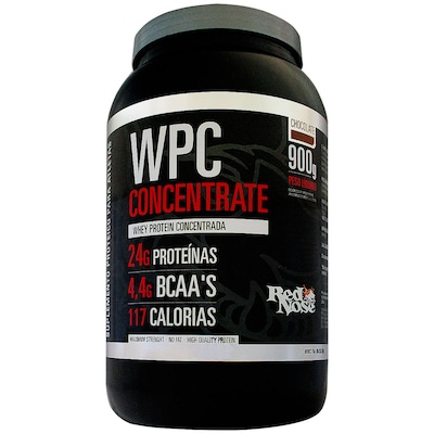 WPC Concentrate Red Nose - 900 g - Sabor Chocolate
