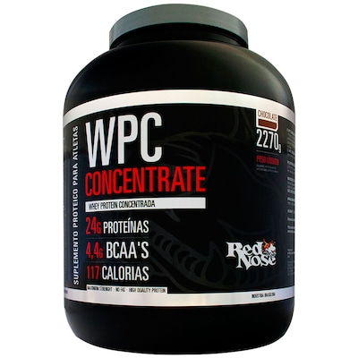 WPC Concentrate – 2,270 Kg – Sabor Chocolate – Red Nose