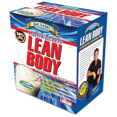 Lean Body Carb Watchers – 20 Envelopes – Sabor Baunilha – Labrada Nutrition