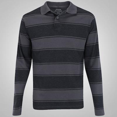 Camisa Polo Manga Longa Oxer Lenox - Masculina