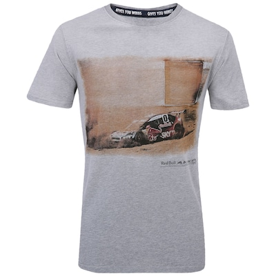 Camiseta Red Bull Racing Carro - Masculina