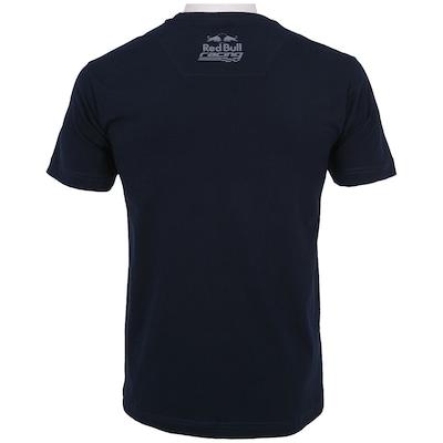 Camiseta Red Bull Racing SC Stripe Large - Masculina
