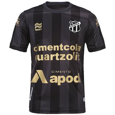 Camisa Penalty Ceará III 2014 Com Patrocínio - Edição Especial Centenário