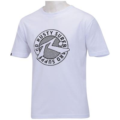 Camiseta Rusty Stamp - Masculina
