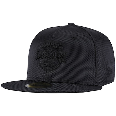 Boné Aba Reta New Era Red Bull Brasil Blackout - Fechado - Adulto