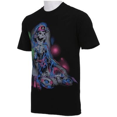 Camiseta Urgh Music Skull - Masculina