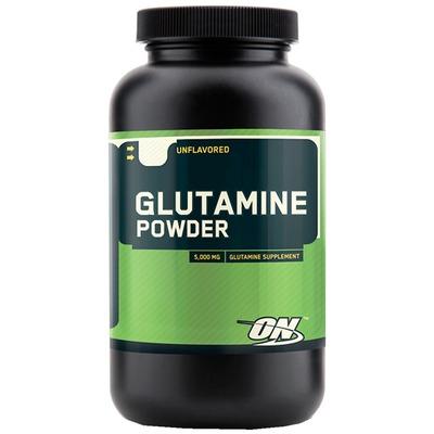 Glutamina Optimum Nutrition Glutamine Powder - Sem Sabor - 150g