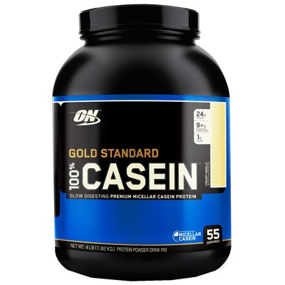 Proteina Optimum Casein 4Lbs Baunilha