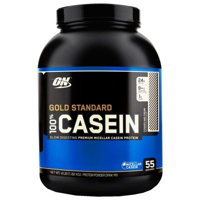 100% Casein Protein – 1,818 Kg – Sabor Cookies and Cream – Optimum Nutrition