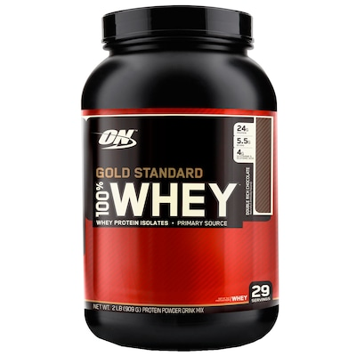 Whey Protein Isolado Optimum Nutrition Gold Standard 100% Whey - Chocolate - 909g