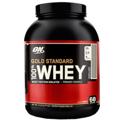 Protein Optimum Whey Gold 100 5Lbs Cook