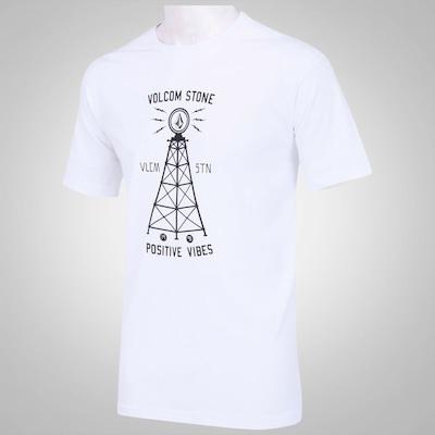 Camiseta Volcom Rádio On - Masculina