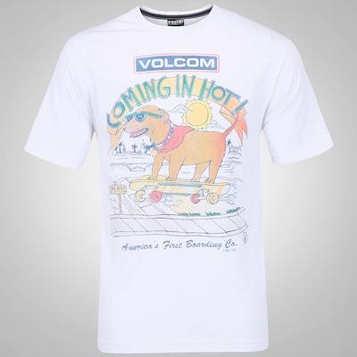 Camiseta Volcom Cheif Dog- Masculina