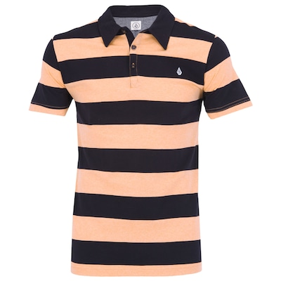 Camisa Polo Volcom Wozer Stripes - Masculina