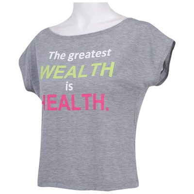 Camiseta Oxer Cropped Health – Feminina