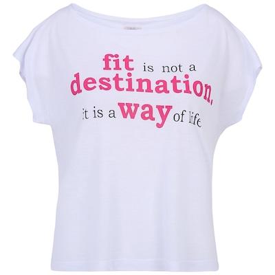 Camiseta Oxer Cropped Fit – Feminina