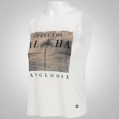 Camiseta Regata Hang Loose Cavadão - Feminina
