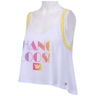 Camiseta Regata Hang Loose Paraiso - Feminina