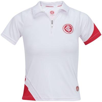 Camisa Polo Internacional Com Zíper - Feminina