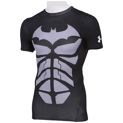 Camiseta de Compressão Under Armour Batmam – Masculina