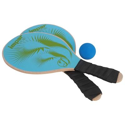 Raquete de Frescocol Impar Fish Kit Com 2 Raquetes e 1 Bola