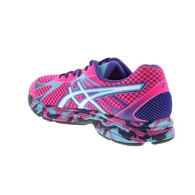 tenis asics accelerato feminino rosa