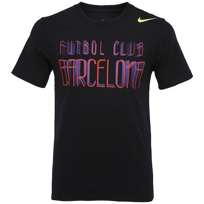 Camiseta Nike Barcelona Core Plus - Masculina
