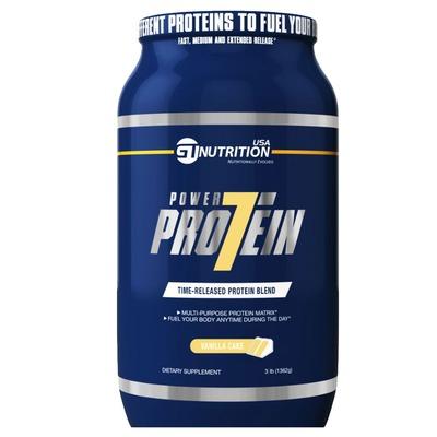 Power Protein 7 – 1,362 Kg – Sabor Baunilha – GT Nutrition USA