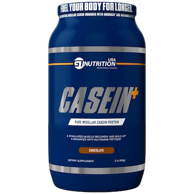 Casein+ – 908 g – Sabor Chocolate – GT Nutrition USA