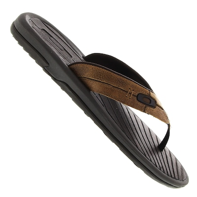 Chinelo Oakley Dune Leather - Masculino