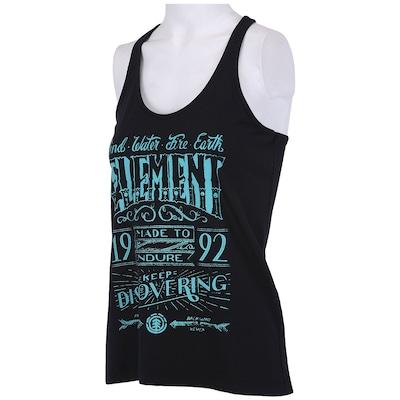 Camiseta Regata Element Foward Ever - Feminina