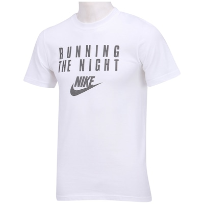 Camiseta Nike Running The Night - Masculina