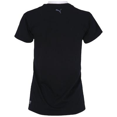 Camiseta Puma Studio Logo – Feminina