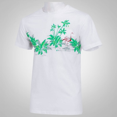 Camiseta Billabong Flamingos – Masculina