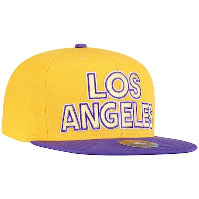 Boné Aba Reta adidas Los Angeles Lakers - Snapback - Adulto