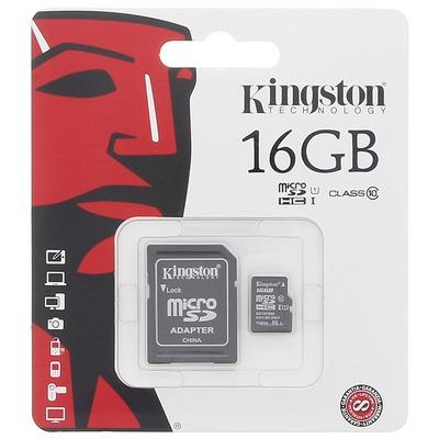 Cartão de Memória Micro SD 16 GB Kingston