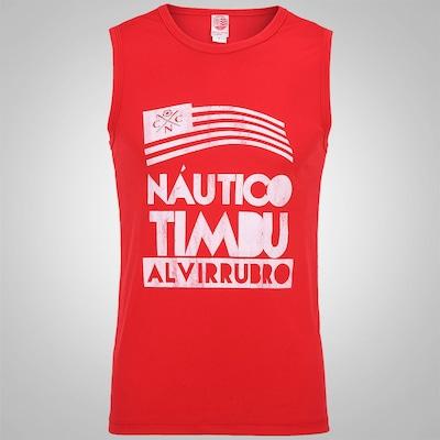 Camiseta Regata Braziline Náutico Alvirrubro – Masculina