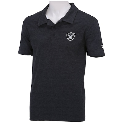 Camisa Polo New Era Big Oakland Raiders - Masculina