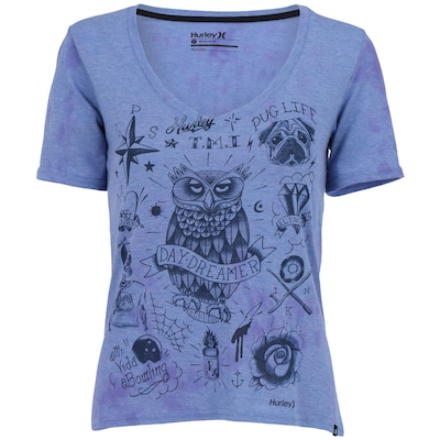 Camiseta Hurley Esp Flash - Feminina