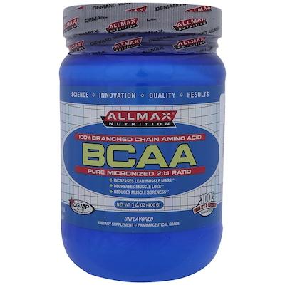 BCAA Allmax Nutrition - 400g - Sem Sabor