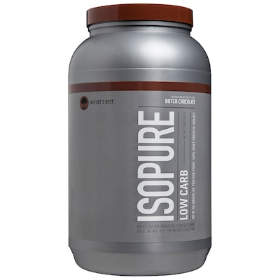 Whey Protein Isolado Natures Best Isopure Low Carb - Chocolate - 1,36Kg