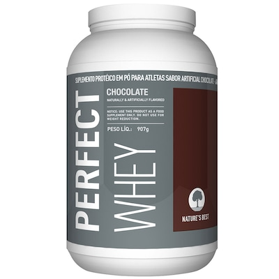 Perfect Whey Protein - 909 g - Sabor Chocolate - Natures Best